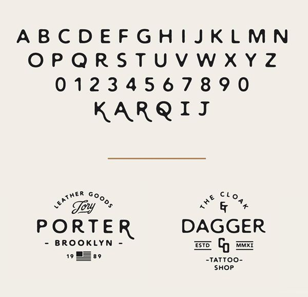 Wayward fonts and letters