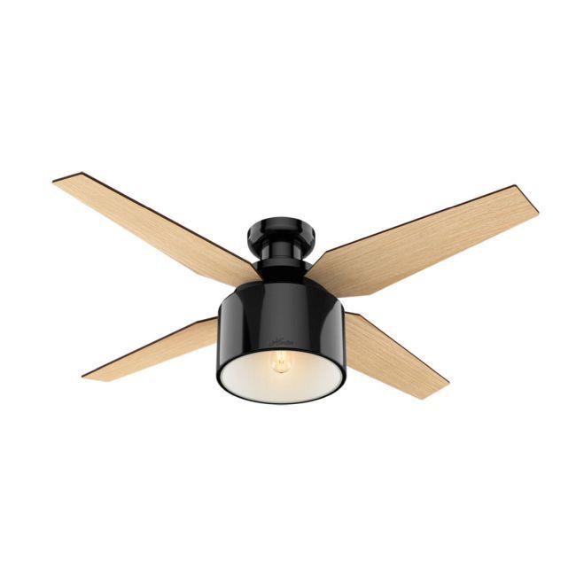 Cranbrook Low Profile Ceiling Fan With Light By Hunter Fan 59260