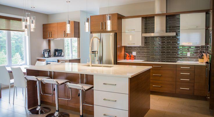 Armoires de cuisine salle de bains photographies - Hotte de cuisine stainless ...