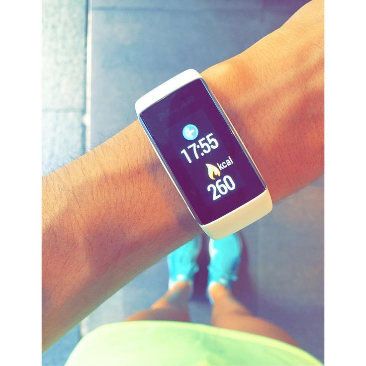 A waterproof fitness tracker watch with wrist heart rate monitor and a color touchscreen. Customize yours with colorful wristbands. Read more.