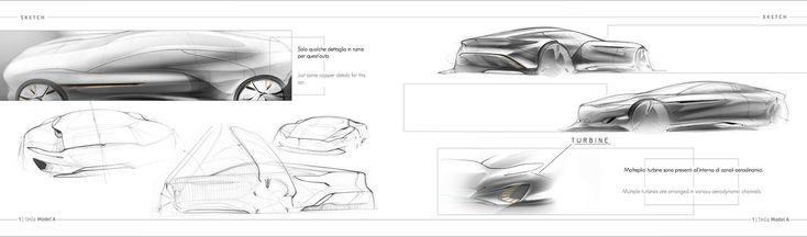Tesla Model A on Behance