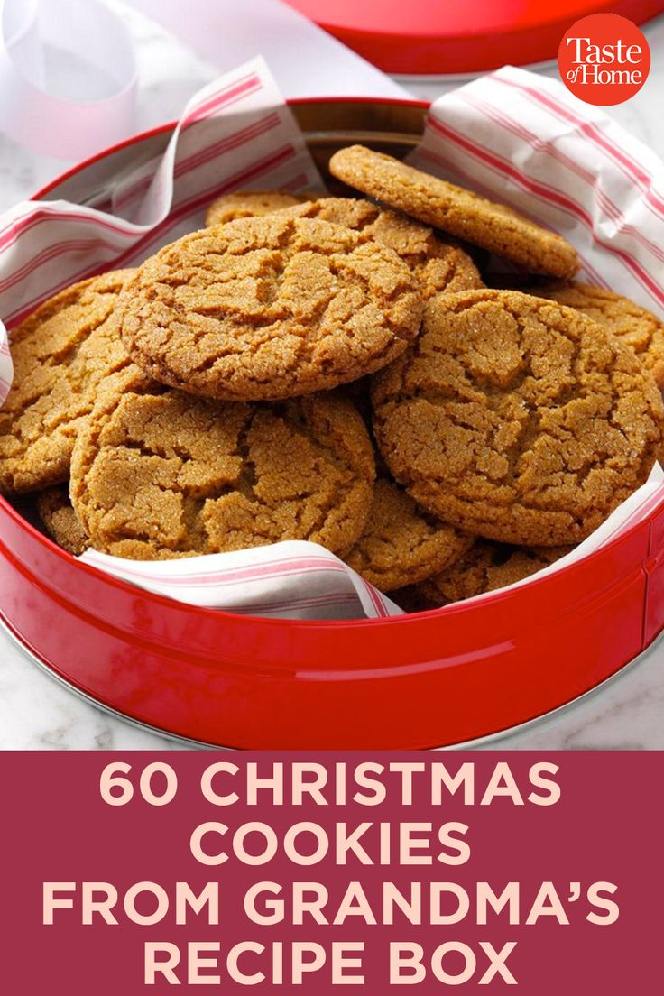 60 Christmas Cookies from Grandma's Recipe Box