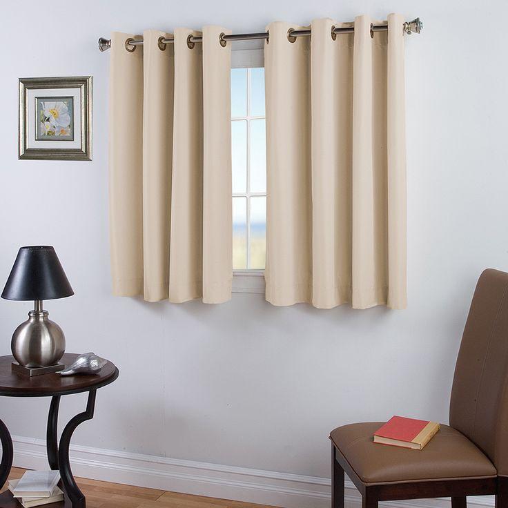 best 25 short window curtains ideas on pinterest window curtains how to hang curtains and. Black Bedroom Furniture Sets. Home Design Ideas