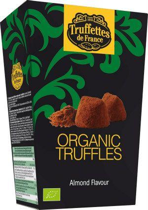 Czekoladki trufle o smaku migdałowym Bio, 250 g - Truffettes de France