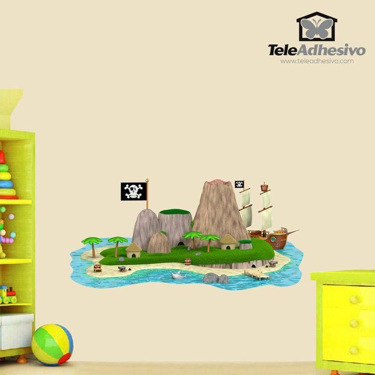 Ms de 25 ideas increbles sobre Isla pirata en Pinterest  Barco