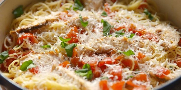 Chicken Pasta Recipes - Pasta with Chicken—Delish.com