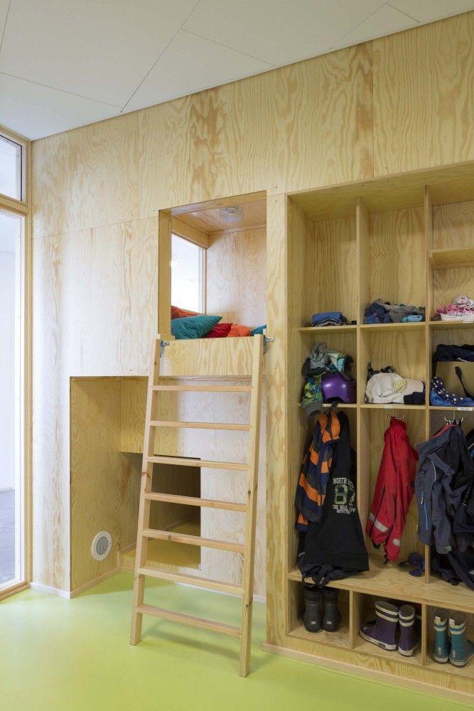 """Råå Day Care Center designed by Dorte Mandrup Arkitekter. A """"cave""""..."""