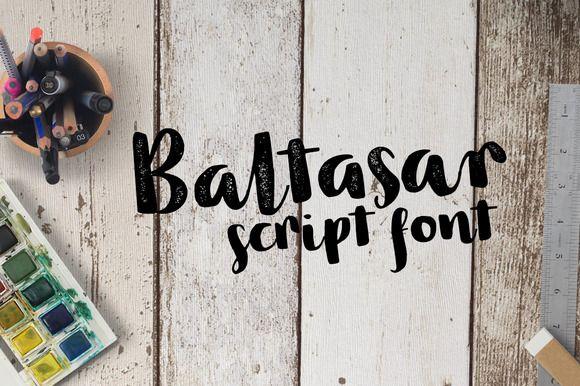 Baltasar - 2 fonts - 50% off by Leitmotif on @creativemarket