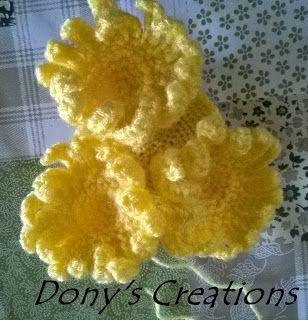 Dony's Creations   by Donatella Saralli : Anemone di mare _ Pattern free italiano