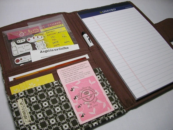 cute vintage planner