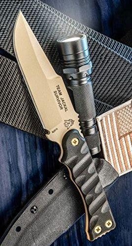 Tops Knives TMJK5S Team Jackal Survivor Fixed Knife Blade