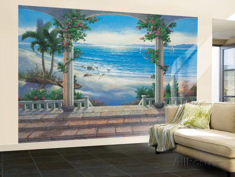 Capriccio Huge Wall Mural Poster Print Wallpaper Mural at AllPosters.com
