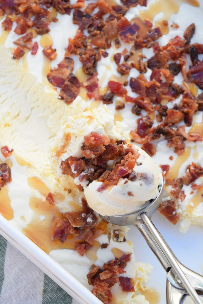 Maple Bacon Ice Cream