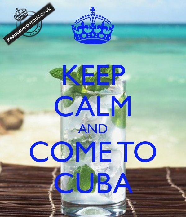 Cuba Travel Quotes: Feeling Stressed? Keep Calm And Come To Cuba! Http://www