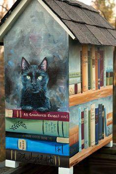 Little Free Library | Katherine Schuber Portrait Artist