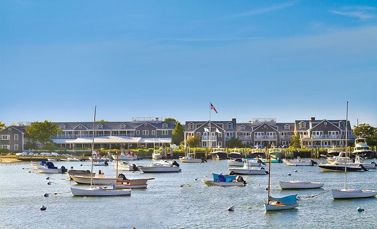 View beautiful boats and sunsets from the hotel - White Elephant Hotel, Nantucket