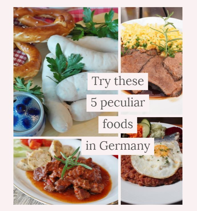 Mejores 16 imgenes de traditional german recipes en pinterest here are the top five most peculiar foods germany has to offer food germany europe germanfood yum yummy unique adventure adventurous cuisine forumfinder Choice Image