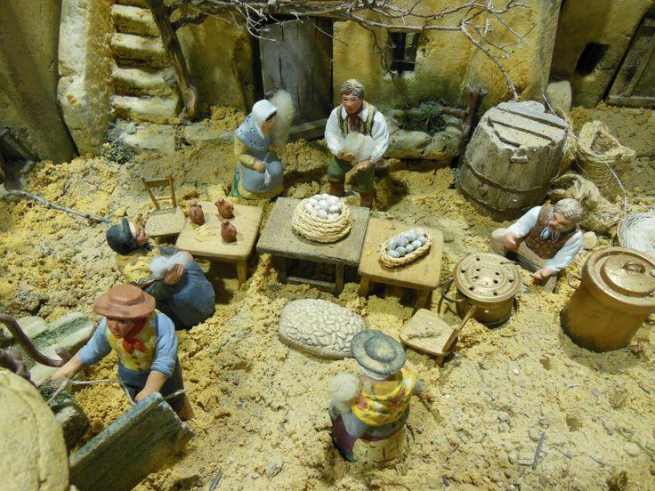 1000 images about creches et santons de provence - Entremont le vieux office de tourisme ...