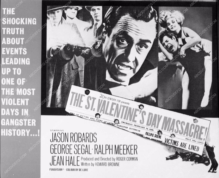 Photo Add Slick Film The St. Valentineu0027s Day Massacre 3724 02 | Films And  Products