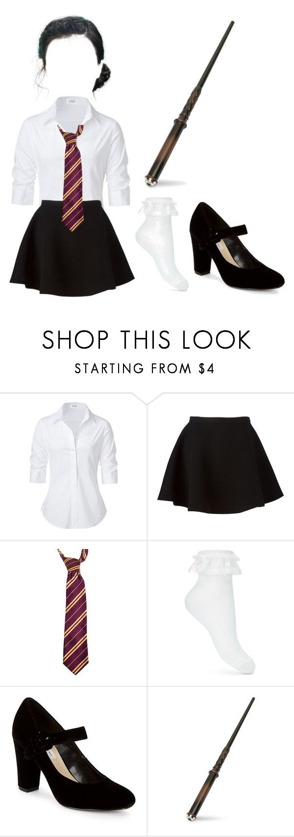 """""""hogwarts robes"""" by piperrichardson ❤ liked on Polyvore featuring Steffen Schraut, Neil Barrett, Rubie's Costume Co., Miss Selfridge and Saks Fifth Avenue"""
