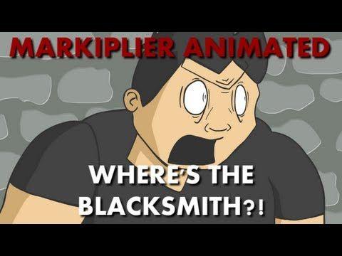 Markiplier Animated | WHERE'S THE BLACKSMITH - YouTube