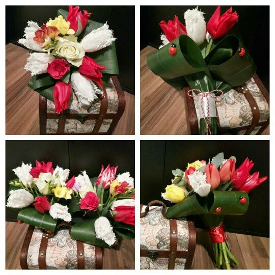 Aranjament floral de primavara! www.buticulcuevenimente.ro