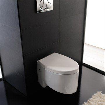 Væghængt toilet Zefino ægte Italiensk design. Made in Italy