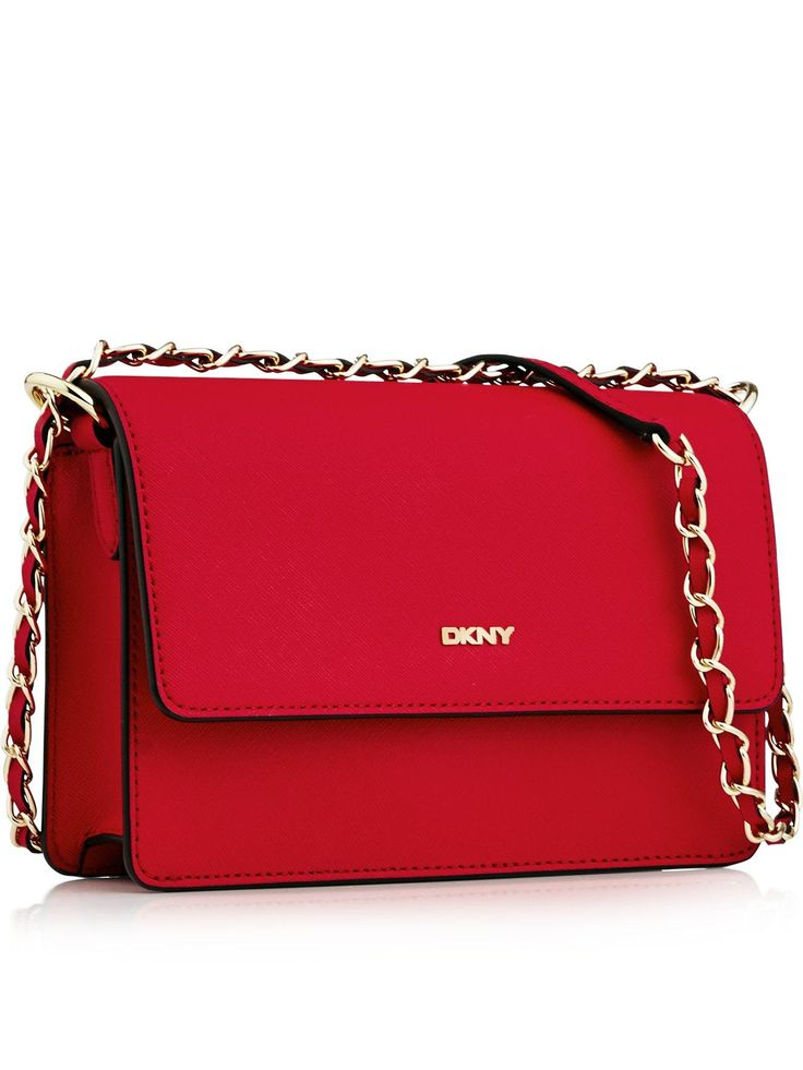 DKNY Bryant Park Saffiano Small Flap Cross Body Bag - On Site Now!