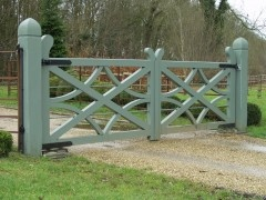 Gate: Love this design. I created something similar on my balcony railings.