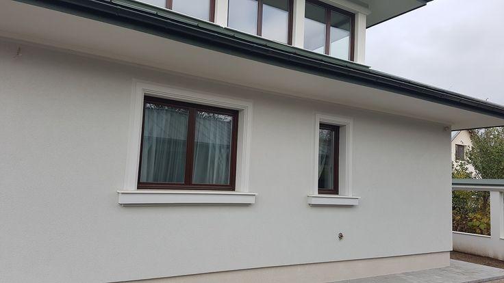 Ancadramente ferestre decorative din polistiren CoArtCo cu solbanc