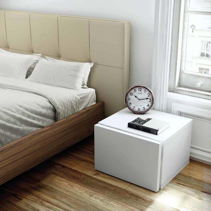 Chevet avec tiroir en bois Hauteur 31 cm FLOAT