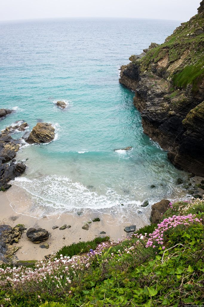 Prussia Cove, Cornwall, England by aljones27