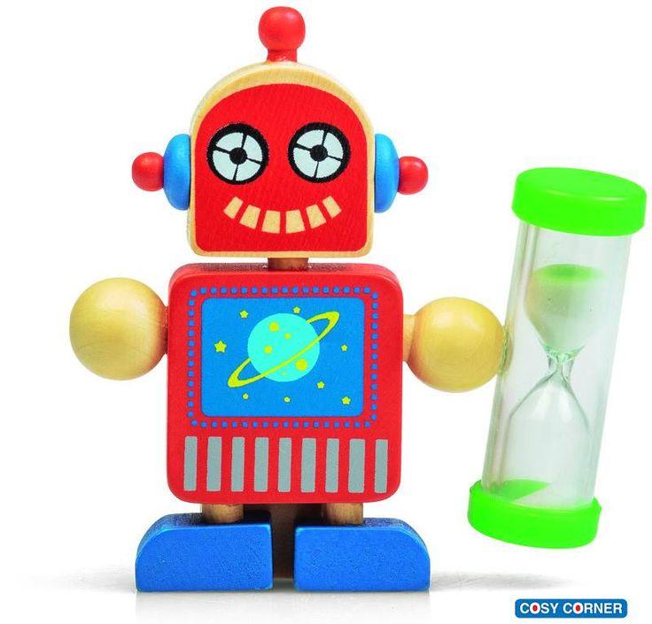Ρομπότ Βάση Οδοντόβουρτσας με Χρονόμετρο - Μαθαίνει με διασκεδαστικό τρόπο στο παιδί σας τη σωστή διάρκεια χρόνου που απαιτείται ώστε να πλένονται καλά τα δόντια! https://goo.gl/kIXpzk