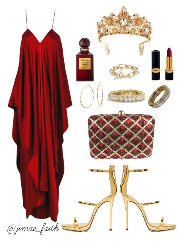 """A Royal Pain "" by jimaefaith on Polyvore featuring Yves Saint Laurent, Giuseppe Zanotti, Judith Leiber, Dolce&Gabbana, Blue Nile, David Yurman, Harry Winston, Tom Ford and vintage"