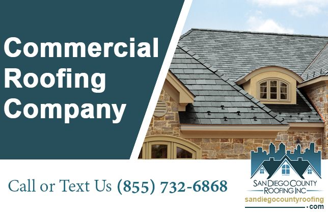 San Diego County Roofing With More Than 25 Years Old Existence Is The First Choice Of Building Owners Property Commercial Roofing Roofing Roofing Contractors