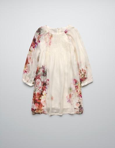 PRINTED DRESS - Dresses - Girl (2-14 years) - Kids - ZARA