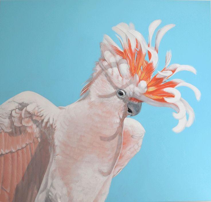 Major Mitchell 190cm x 180cm Acrylic on Canvas Geoffrey Carran 2014