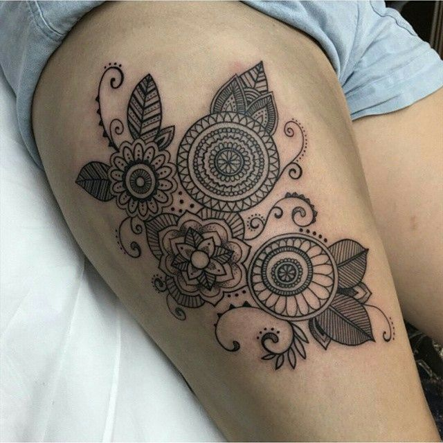 Image result for back of leg tattoo