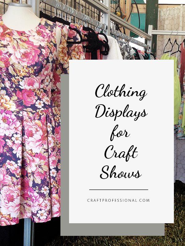Lots of DIY clothing display photos here - http://www.craftprofessional.com/handmade-clothing-display.html