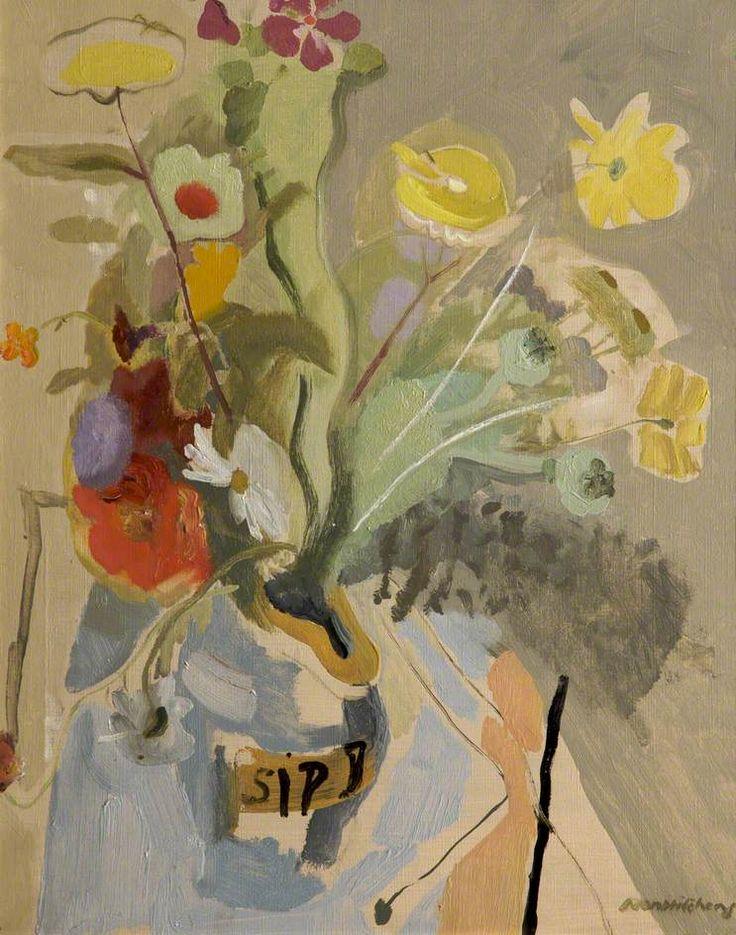 transistoradio: Ivon Hitchens (1893-1979), Spring Flowers (n.d.), oil on canvas, 51 x 61 cm. Via BBC.
