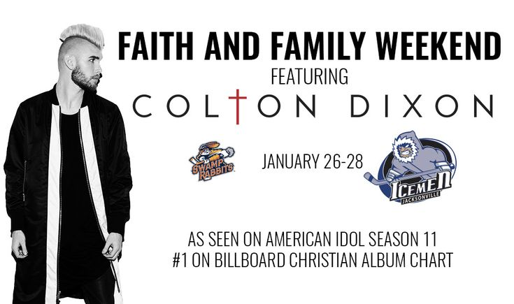 COLTON DIXON TO PERFORM POST-GAME CONCERT ON JANUARY 26