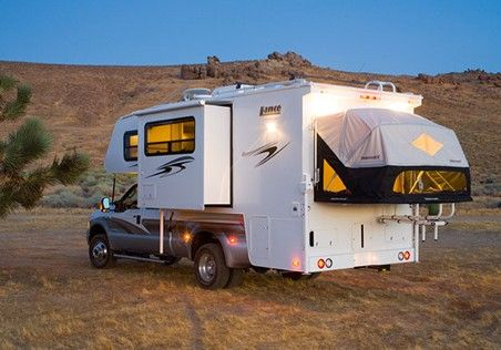 A Hybrid truck Camper is an excellent idea!