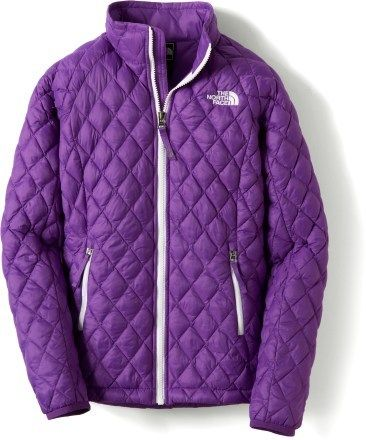 Keep your favorite little lady warm with The North Face Thermoball jacket. #REIgifts