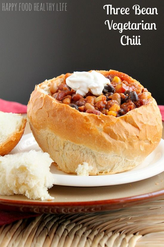 Tried and True Three Bean Vegetarian Chili