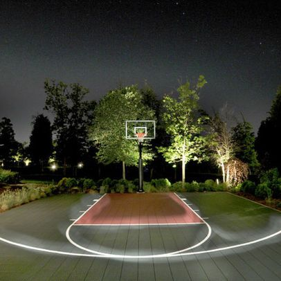 Dc metro home court yards design ideas pictures remodel for Homemade basketball court