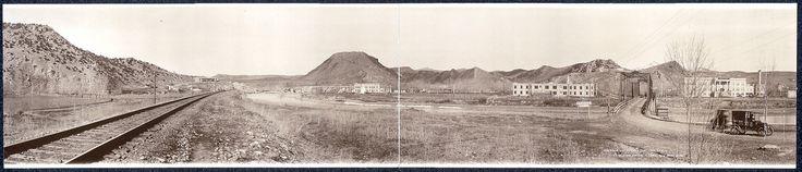 Thermopolis, Wyoming - panoramic photo (1918)