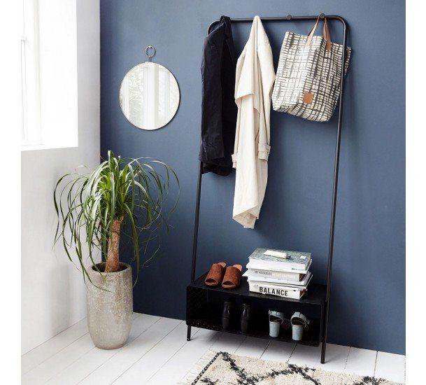 House Doctor - Ways Rack - Sort - Sort garderobe i stål