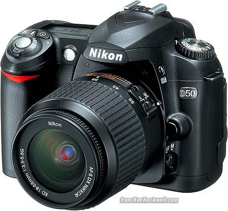 My Old-school Camera. How to use a Nikon D50 - Ken Rockwell