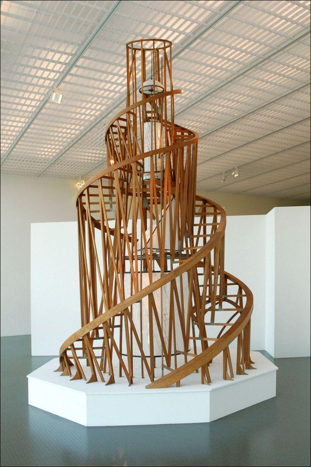 Monument à la Troisième internationale (centre Pompidou Metz) (4961047799) - Vladimir Tatline — Wikipédia