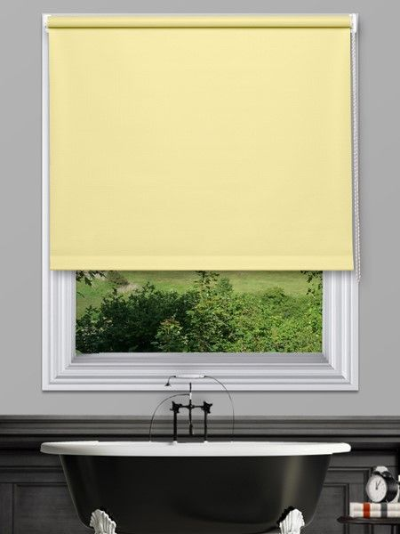 Unilux Buttercup Waterproof Blinds - Our Unilux Waterproof PVC Roller Blind fabric is available in 14 plain colours. The fabrics are very easy to wipe clean and are water and mould resistant.